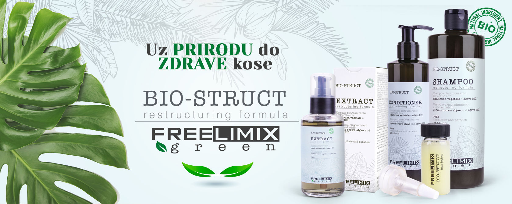 x Bio Struct Free Limix green