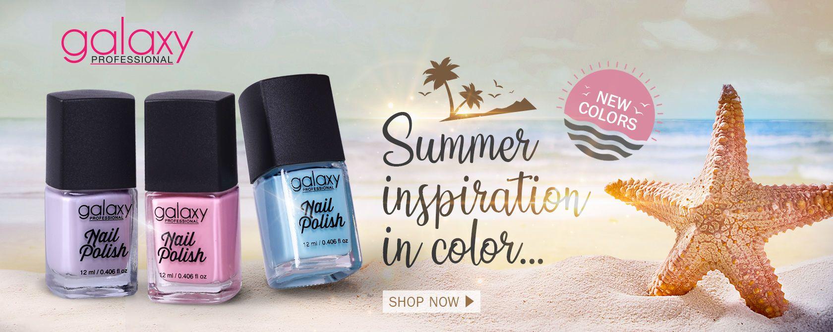 x Galaxy nail polish new color