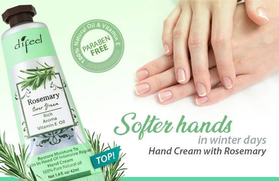 defeel rosemary hand cream