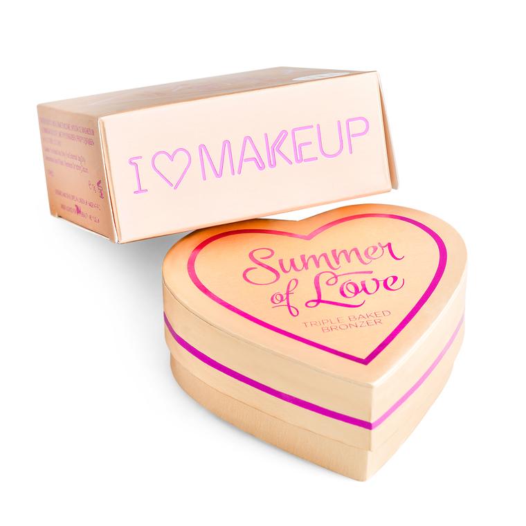 Bronzer I HEART REVOLUTION Summer of Love Hot Summer of Love 10g