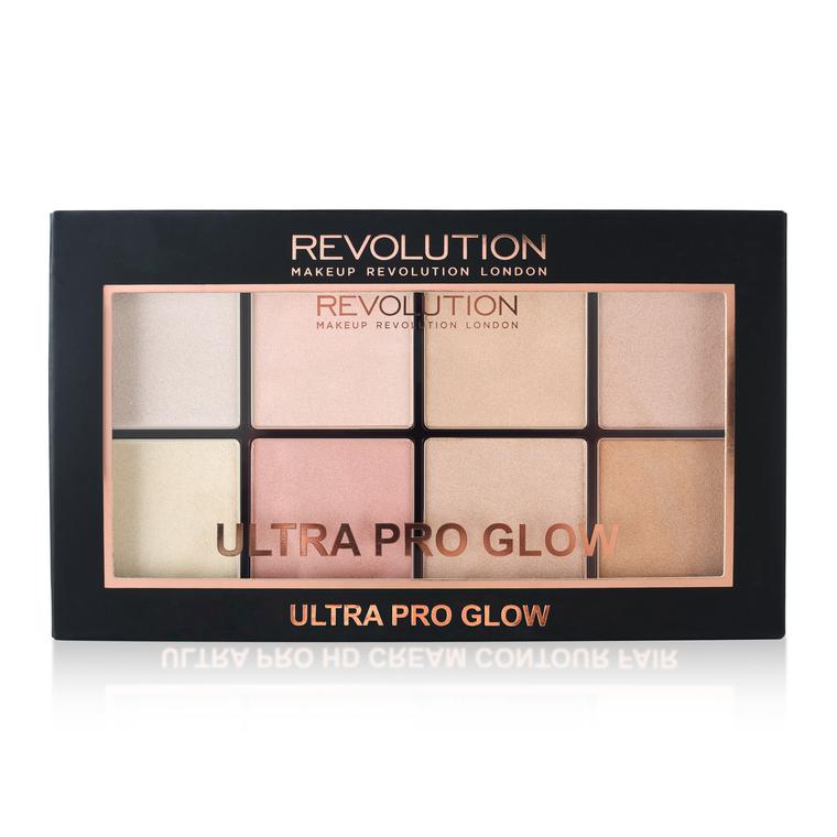 Paleta hajlajtera REVOLUTION MAKEUP Ultra Pro Glow 20g