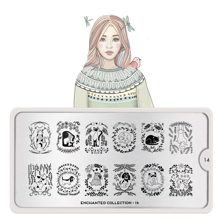Šablon za pečate MOYOU Enchanted 14