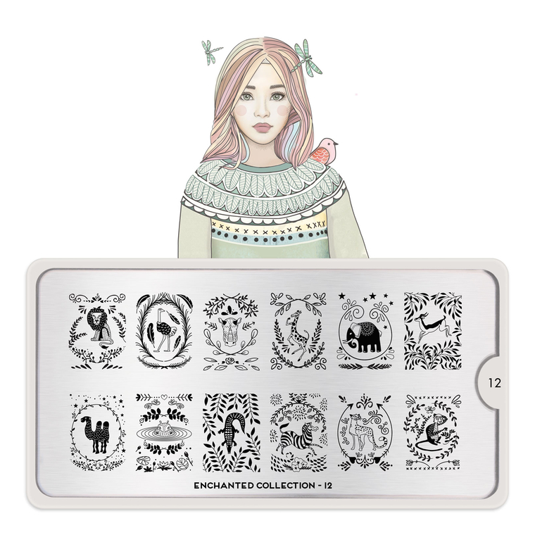 Šablon za pečate MOYOU Enchanted 12