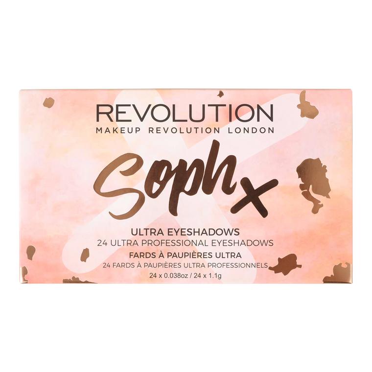 Paleta senki za oči REVOLUTION MAKEUP Soph X 26g