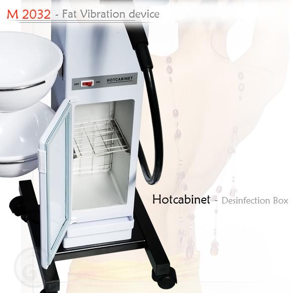 Kozmetički aparat za tretmane tela M2032 vibromasaža sa 8 nastavaka
