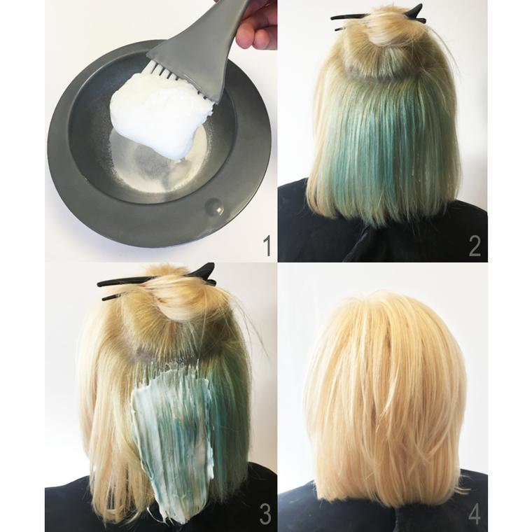 Skidač polutrajne farbe za kosu CRAZY COLOR Remover 45ml