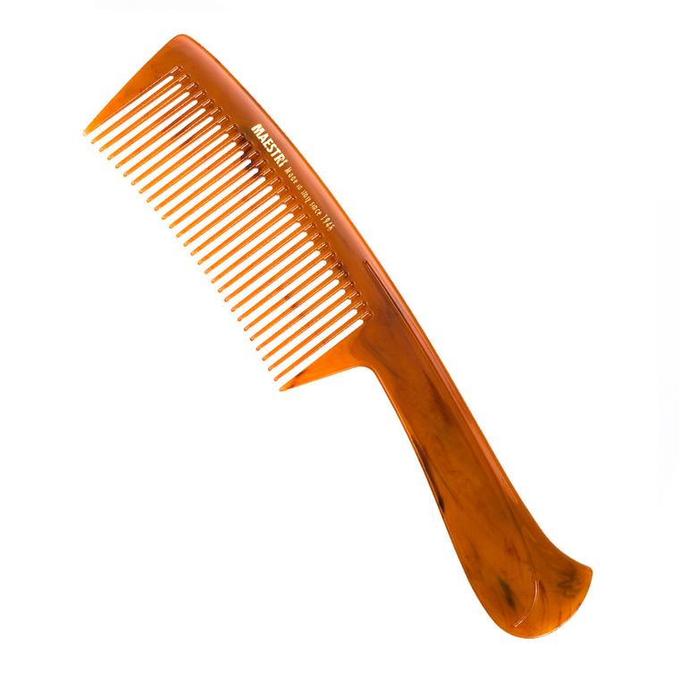 Češalj za kosu sa zaobljenim zupcima MAESTRI 0859 Narandžasti