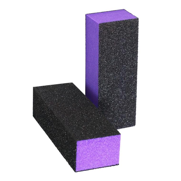Blok turpija za matiranje noktiju ENS Ljubičasto/Crna 60/60/100