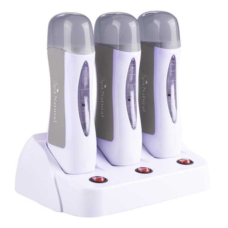 Trio aparat za hladnu depilaciju SPA NATURAL Silver SN11
