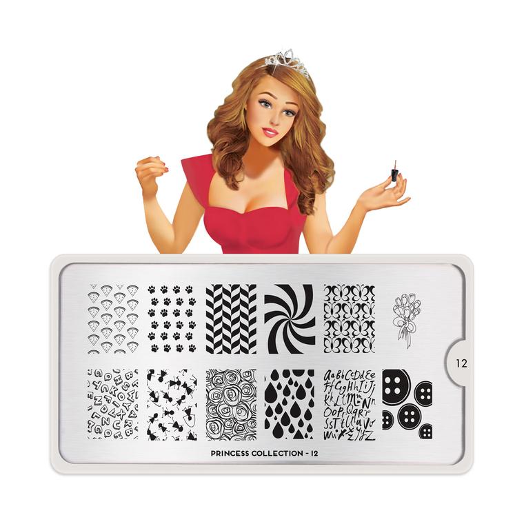 Šablon za pečate MOYOU Princess 12