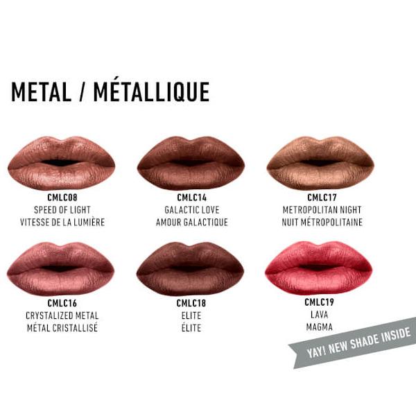 Mat i metalik tečni ruž u setu NYX Professional Makeup Mattes vs Metals MIDVAULT01 12x1.6ml