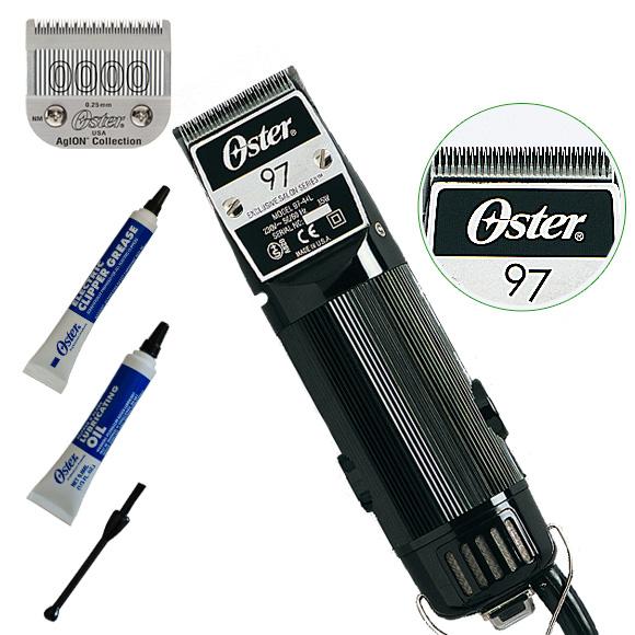 Mašinica za šišanje OSTER 97 sa rotacionim motorom snage 45W i izmenjivim sečivom