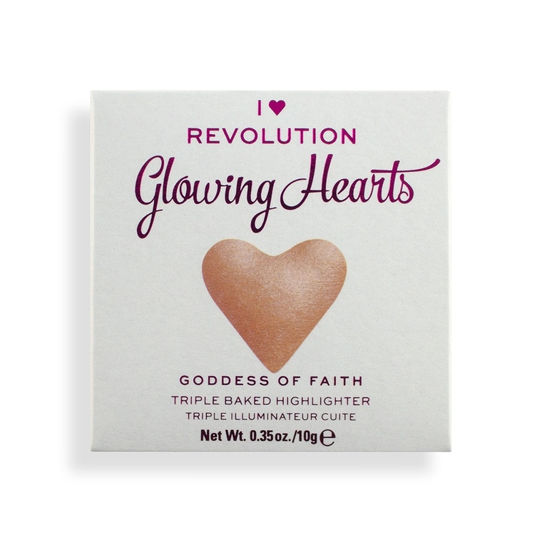 Hajlajter I HEART REVOLUTION Glowing Hearts Goddess of Faith 10g