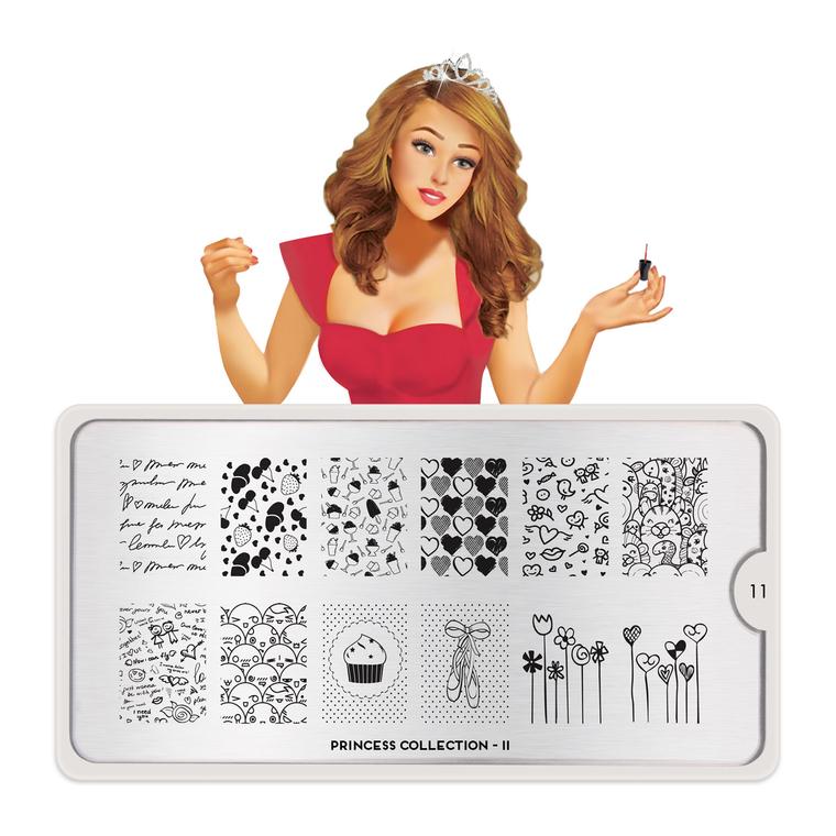 Šablon za pečate MOYOU Princess 11