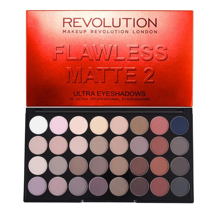 Paleta senki za oči REVOLUTION MAKEUP Flawless Matte 2 16g