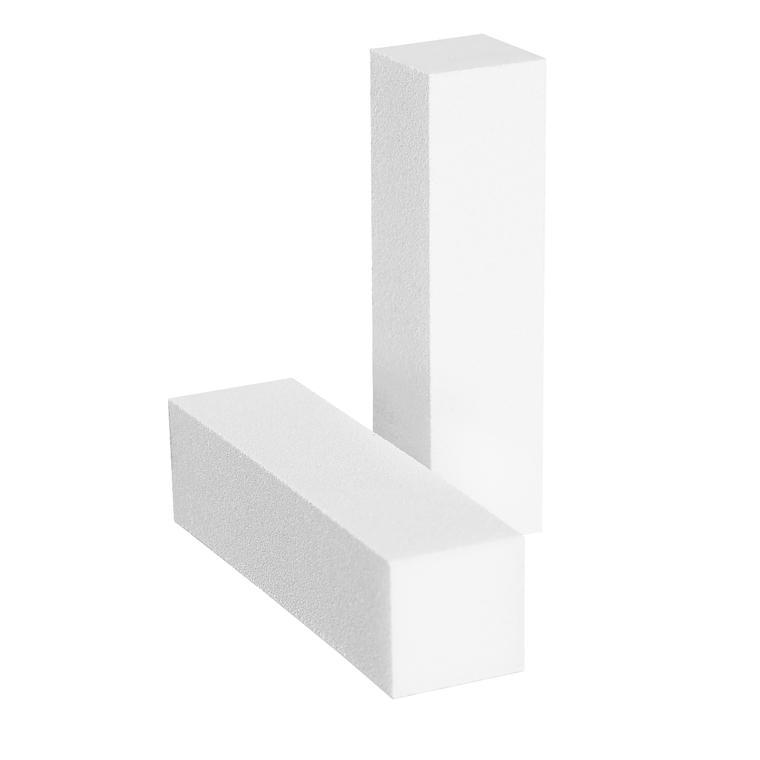 Blok bafer turpija za matiranje nokatne ploče ENS Bela