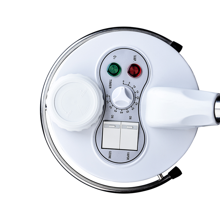 Kozmetički aparat za tretmane lica i tela M2001B vapozon sa ozonom, herbaterapijom i podesivom visinom