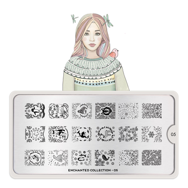 Šablon za pečate MOYOU Enchanted 05