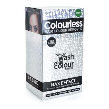 Skidač farbe bez blanša (crne, braon i crvene nijanse) COLOURLESS Max Effect 3x60ml