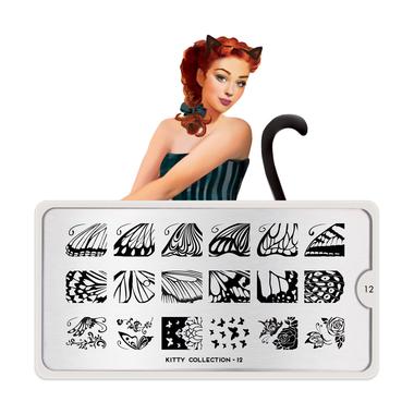 Šablon za pečate MOYOU Kitty 12