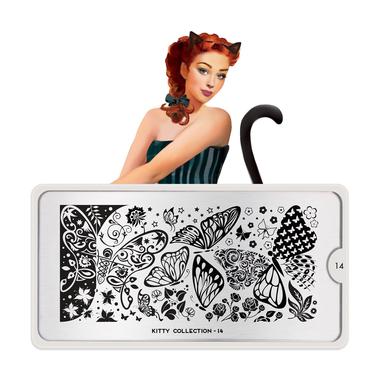 Šablon za pečate MOYOU Kitty 14