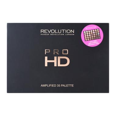 Paleta senki za oči MAKEUP REVOLUTION Pro HD Amplified 35 Neutral Cool 30g