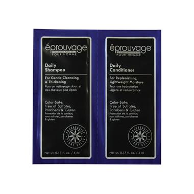 Set bez sulfata za negu kose za muškarce EPROUVAGE Šampon/Balzam
