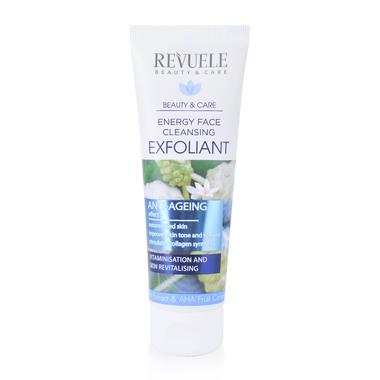 Piling za lice sa noni ekstraktom i AHA voćnim kompleksom REVUELE Anti-Age 80ml