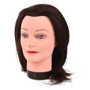 Trening lutka sa prirodnom kosom COMAIR Emma Smeđa 40cm