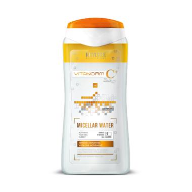 Micelarna voda za uklanjanje šminke sa vitaminom C REVUELE Vitanorm 200ml
