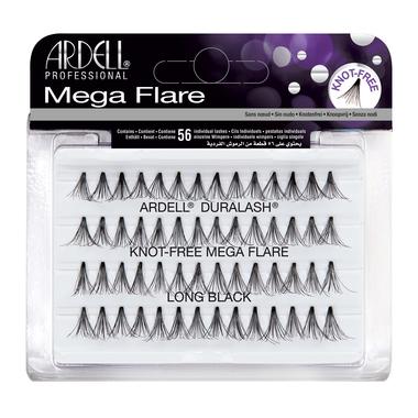 Individualne trepavice bez čvorića ARDELL Mega Flare Knot-Free Duge