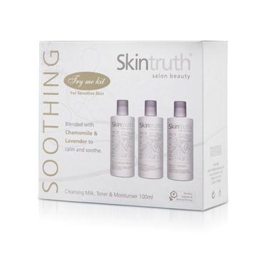 Soothing set za negu osetljive kože lica SKINTRUTH