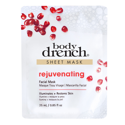 Facial Mask Sheet BODY DRENCH Rejuvenating 25ml