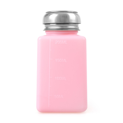 Pumpica za tečnost sa metalnim poklopcem Pink 177ml