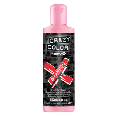 Vibrant Color Shampoo Sulfate Free CRAZY COLOR Red 250ml