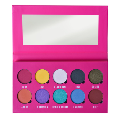 Paleta pigmenata za oči MAKEUP OBSESSION Be Crazy About 13g