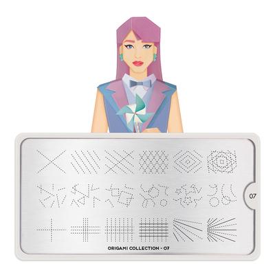 Šablon za pečate MOYOU Origami 07