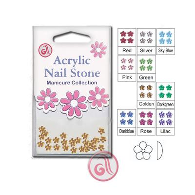 Zircons For Nail Art RSN48 Gold 2,5mm 48pcs