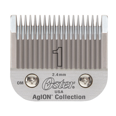 Spare Blade For Hair Clippers Oster Size 1 - 2.4 mm