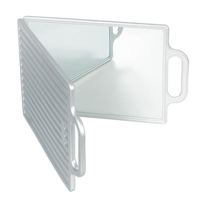 Pokazno ogledalo duplo N01 2 Srebrno
