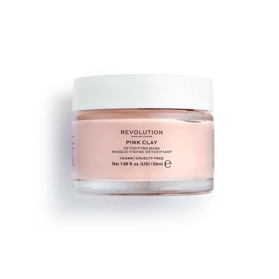 Maska na bazi gline za čišćenje lica REVOLUTION SKINCARE Pink Clay 50ml