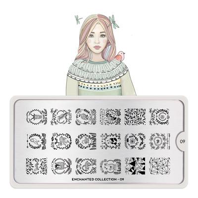 Šablon za pečate MOYOU Enchanted 09