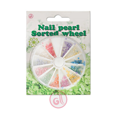 Round Pearl For Nail Art PBOX5