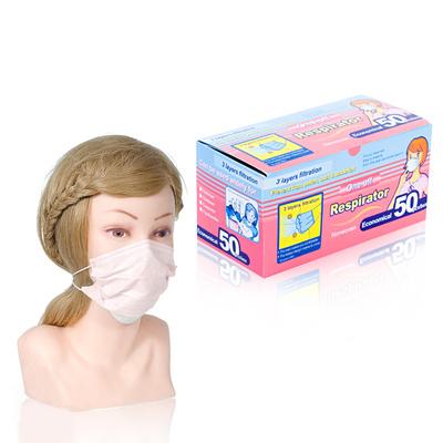 Roze zaštitna maska za lice 50/1