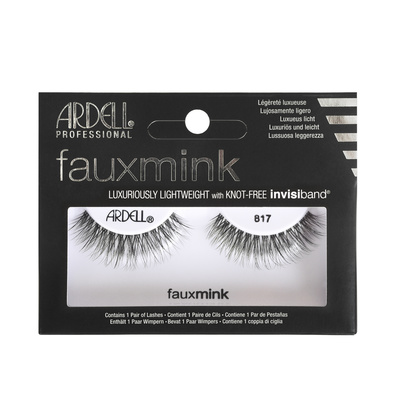 Strip Eyelashes ARDELL Faux Mink 817