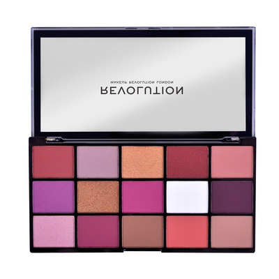 Paleta senki za oči REVOLUTION MAKEUP Reloaded Red Alert 16.5g