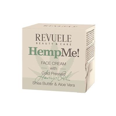 Krema za hidrataciju kože lica REVUELE Hemp Me! 50ml