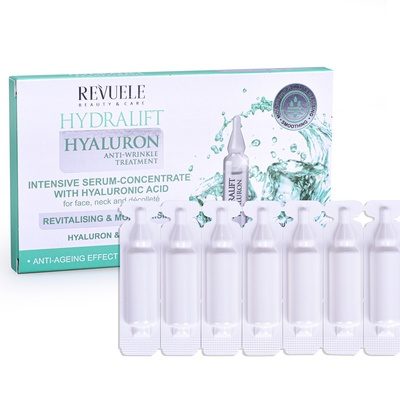 Ampoules Hydralift Hyaluron Intensive Serum REVUELE 7x2ml