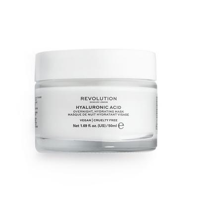 Overnight Hydrating Face Mask REVOLUTION SKINCARE Hyaluronic Acid 50ml