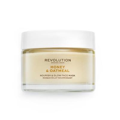 Nourish & Glow Face Mask REVOLUTION SKINCARE Honey & Oatmeal 50ml
